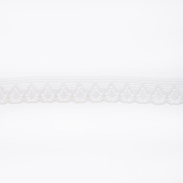 Čipka, zaključna, 10mm, 14165-3b, smetana