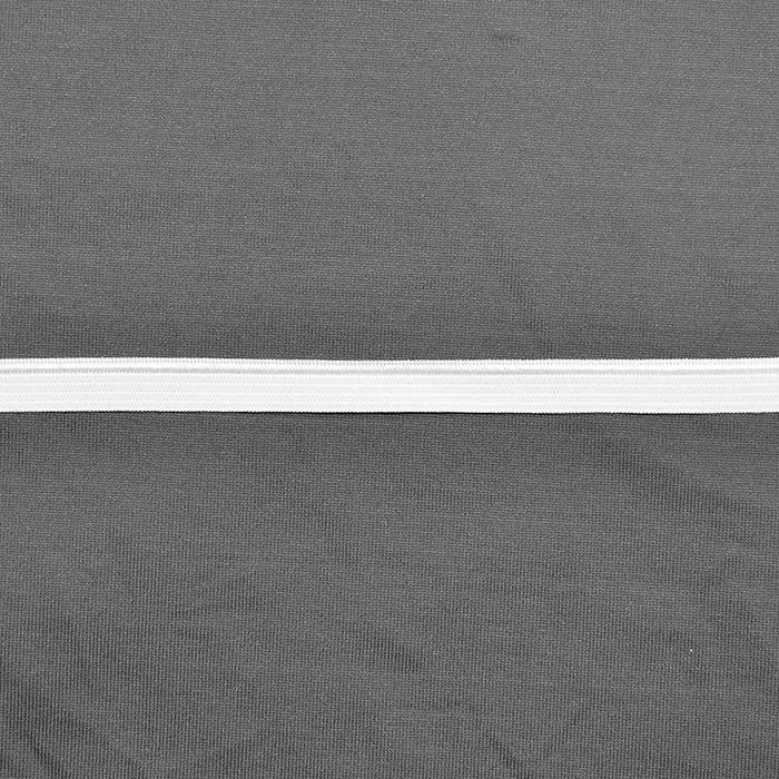 Elastika, paspula, 10mm, 14165-40, bela