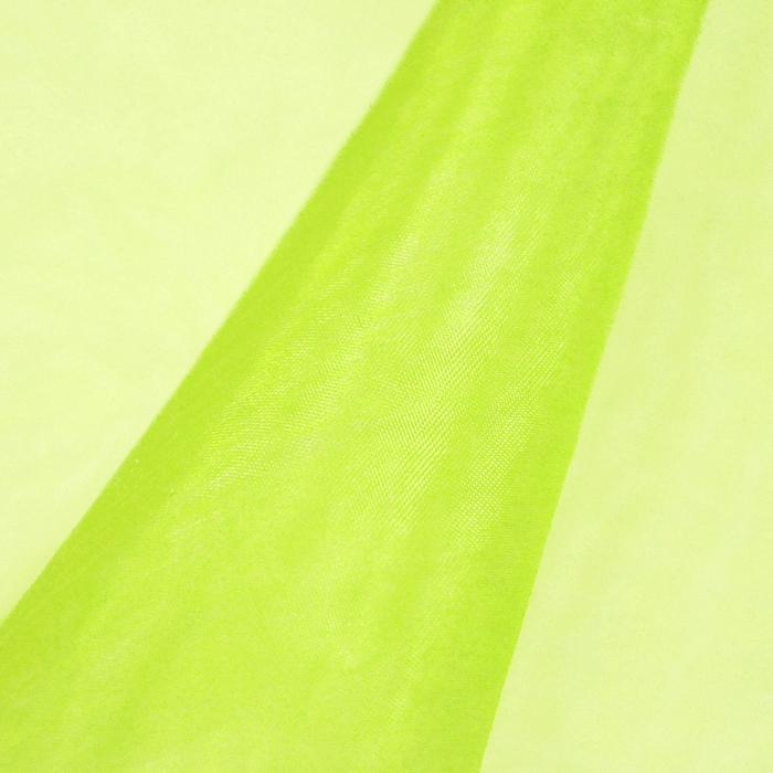 Organza, poliester, 13903-15, zelena