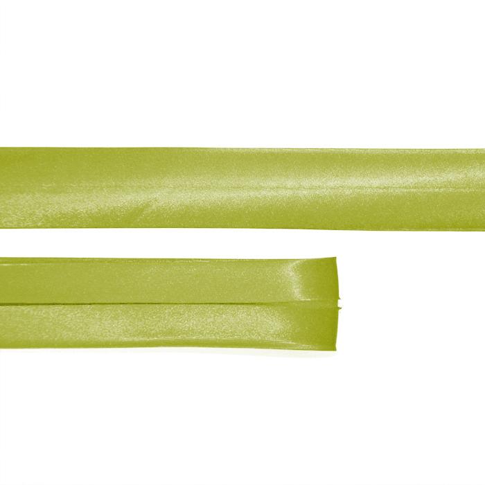 Bias tape, satin, 79_15644-4564, light green