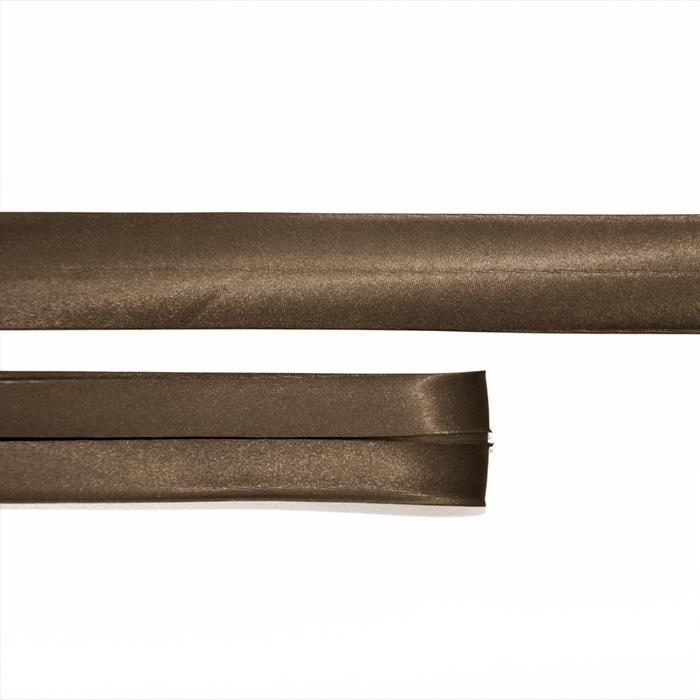 Obrubna traka, saten, 20_15644-4904, smeđa