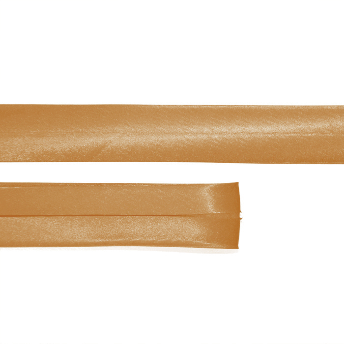 Bias tape, satin, 17_15644-4551, dark gold
