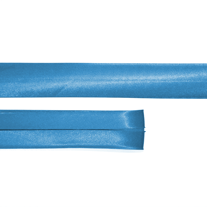 Randband, Satin, 58_15644-4930, blau