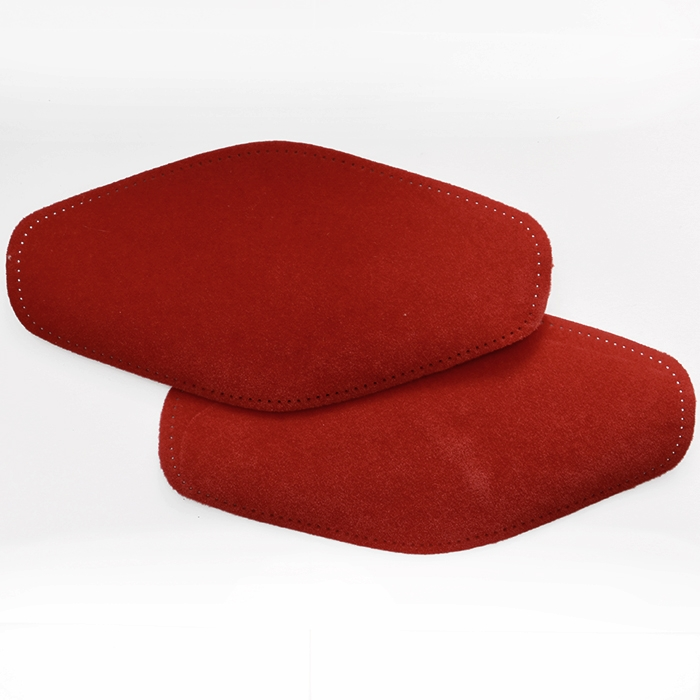 Elbow patches, chamois, 2 pcs, 00471-266, red
