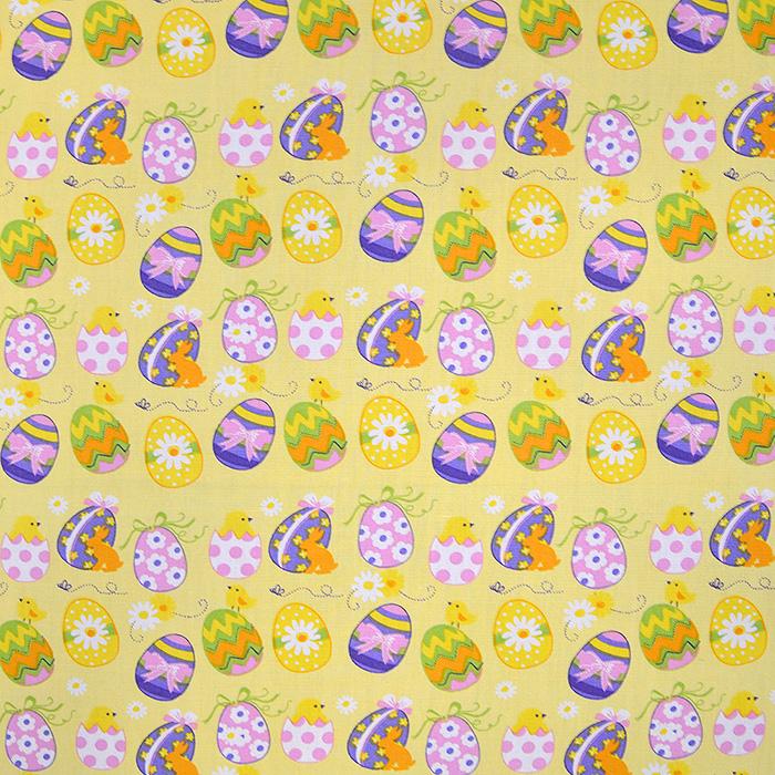 Cotton, poplin, Easter, 15672-033