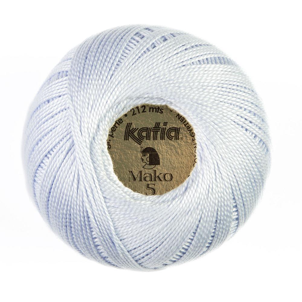 Yarn, Mako, 15687-114, light blue