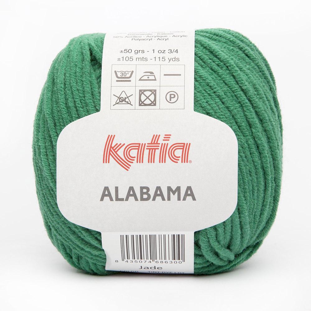 Garn, Alabama, 15690-37, grün