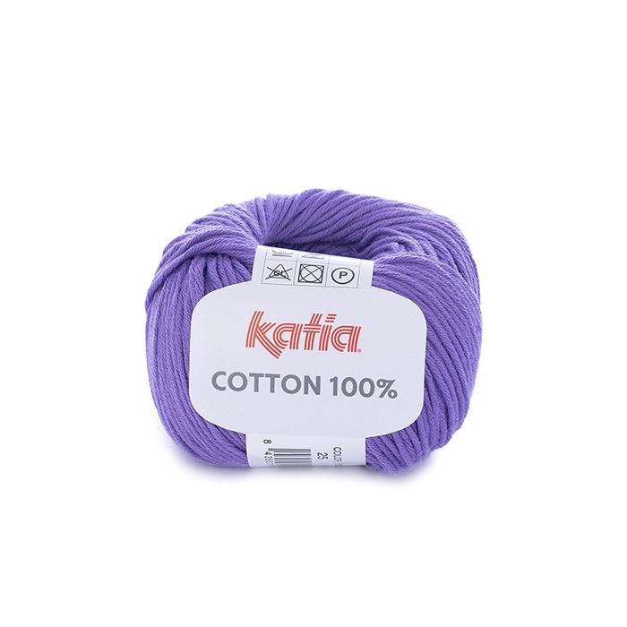 Preja, Cotton 100%, 14733-25, vijola