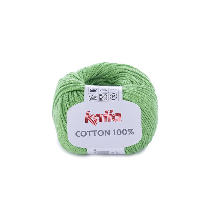 Pređa, Cotton 100%, 14733-42, zelena