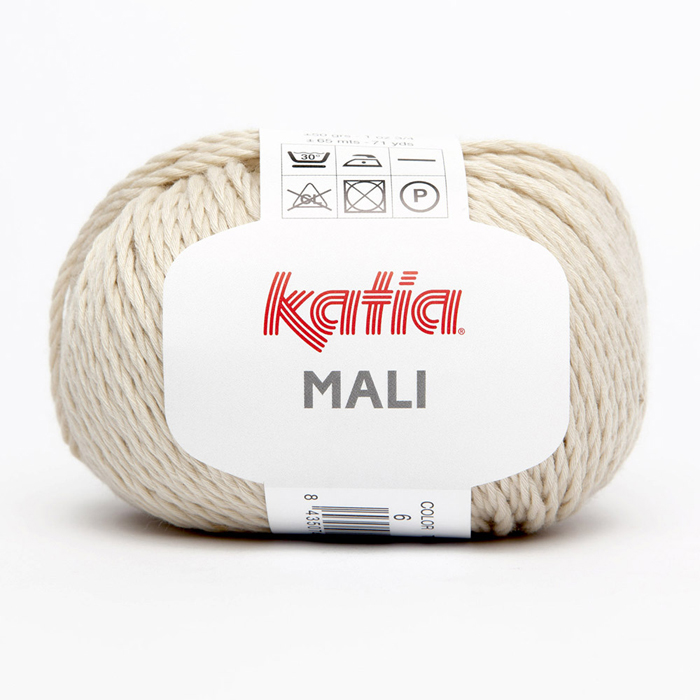 Yarn, cotton, 15692-6, beige