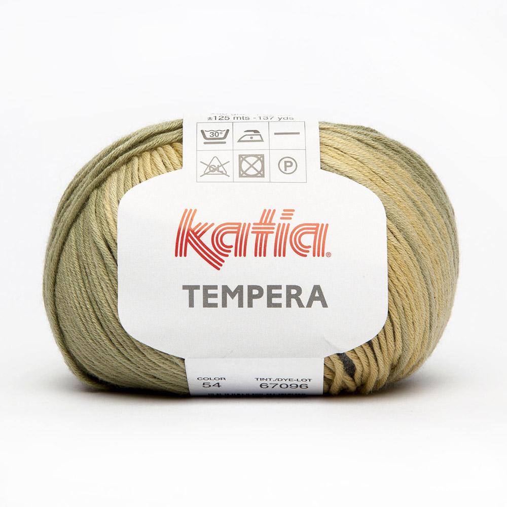 Pređa, Tempera, 15693-54, zelena