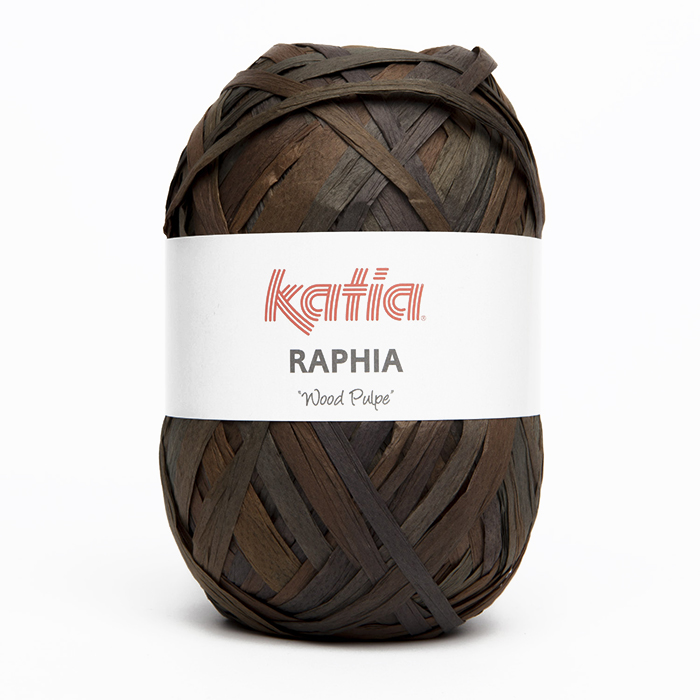 Yarn, Raphia, 15696-51, brown