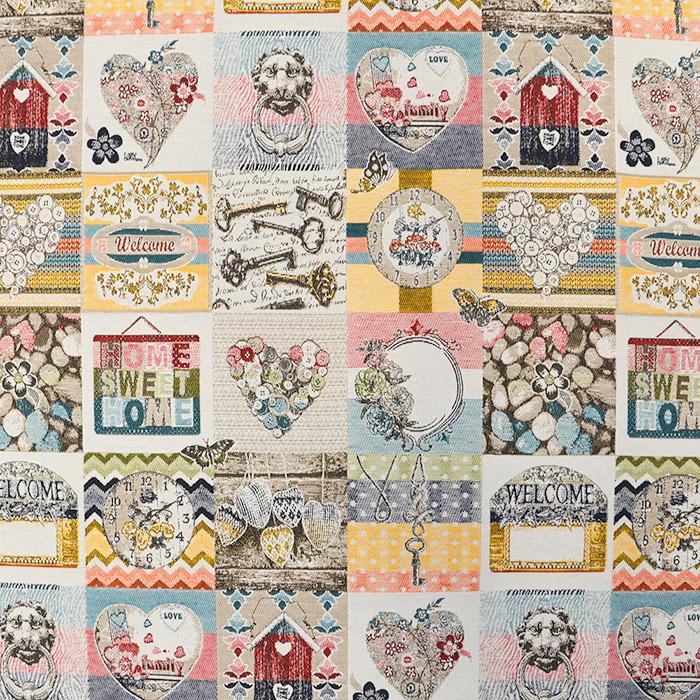 Deco jacquard, romantic, 15729-2