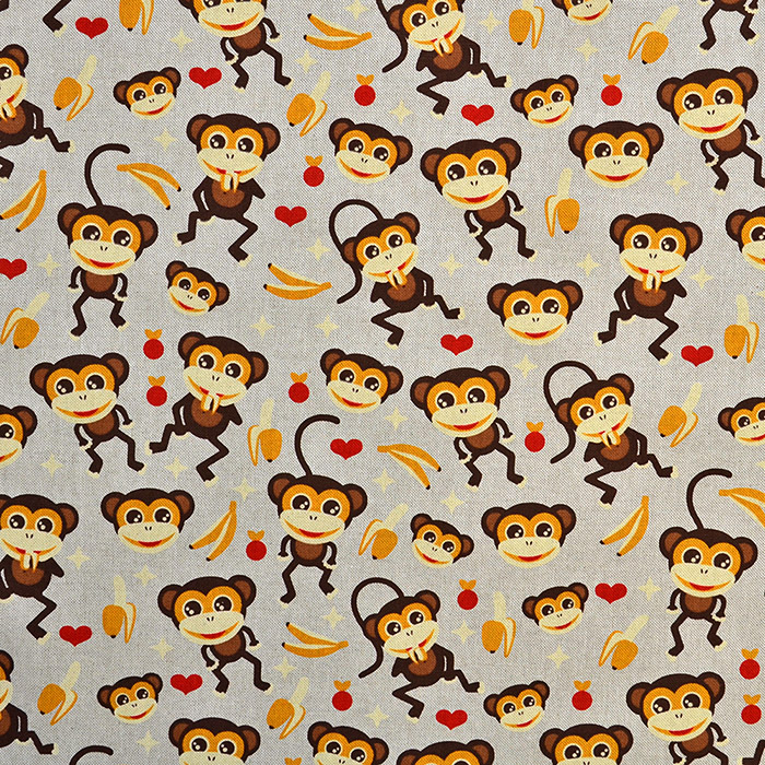 Deko, tisk, opice, 15188-24