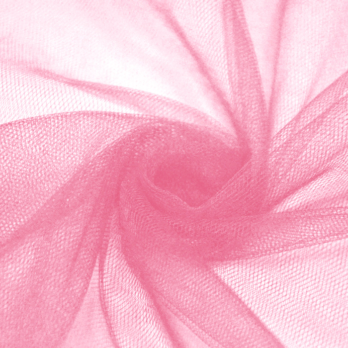 Tulle, fine, 15883-6, light pink