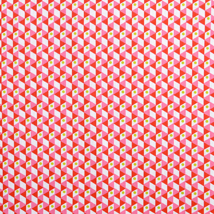 Cotton, poplin, geometric, 15922-3