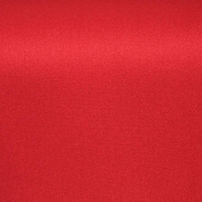 Svila, saten, elastan, 15934-2, rdeča