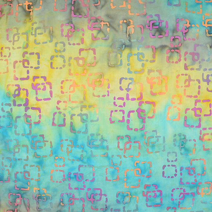 Bombaž, poplin, batik, abstraktni, 15647-18