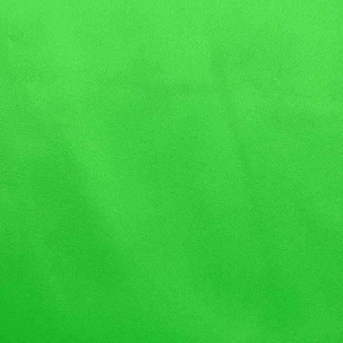 Saten, poliester, 3093-124, zelena