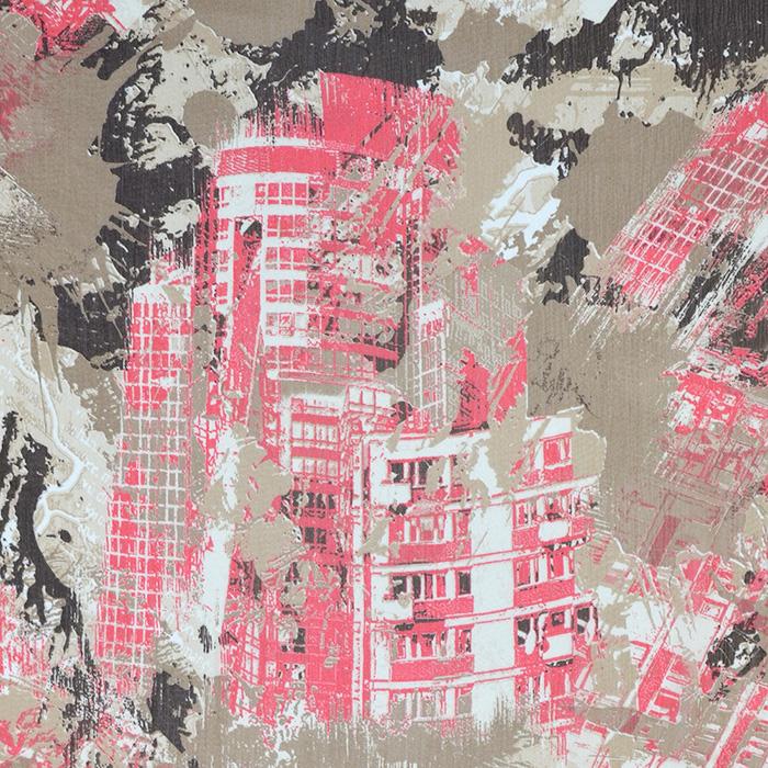 Chiffon, polyester, geometric, 15005-10