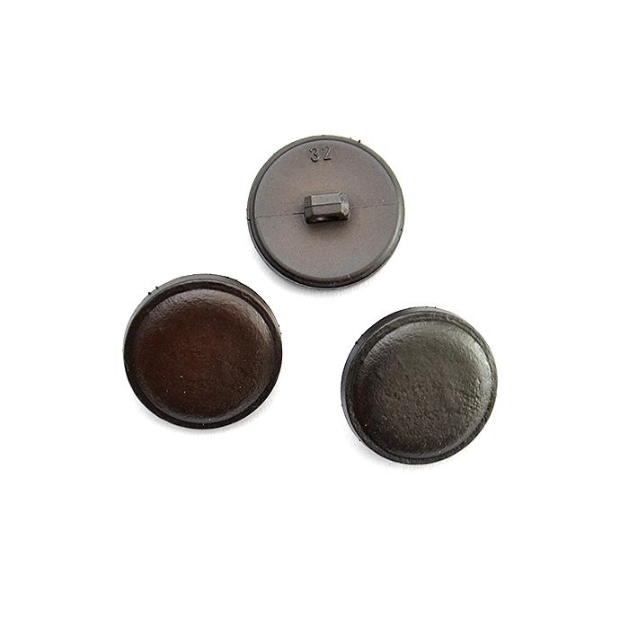 Knopf, für Anzüge, braun, 20mm, 15952-0006