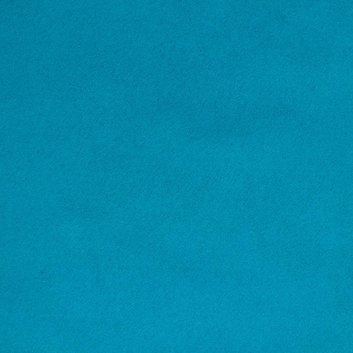 Semiš, brušeno pletivo, 13626-024, turkizna