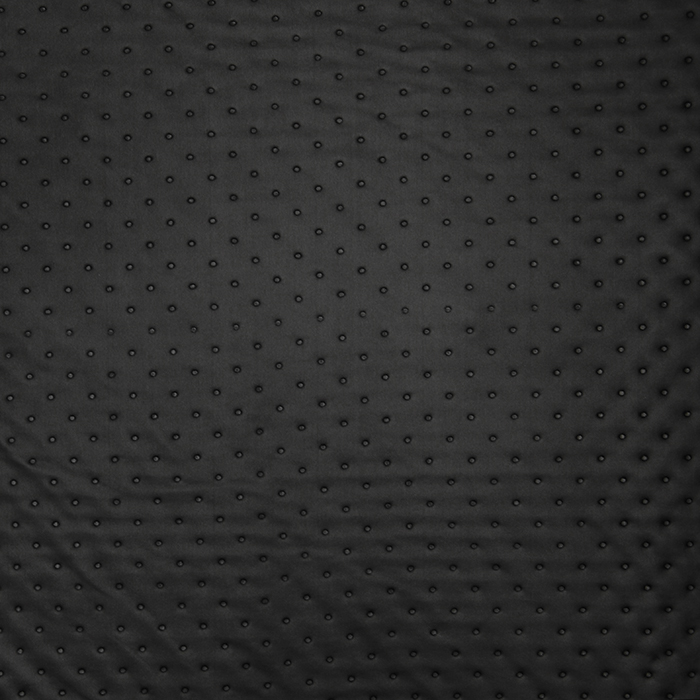 Quilted lining, dots, 16081-269, black
