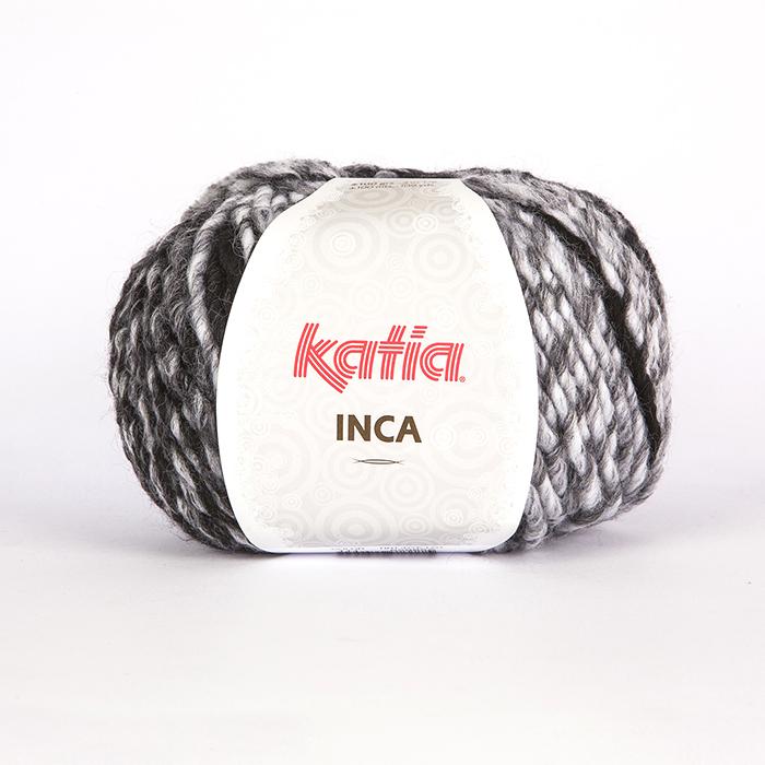 Wool,  Inca, 16093-111, black grey