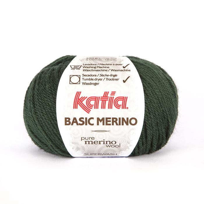 Volna, Basic Merino, 15041-15, zelena