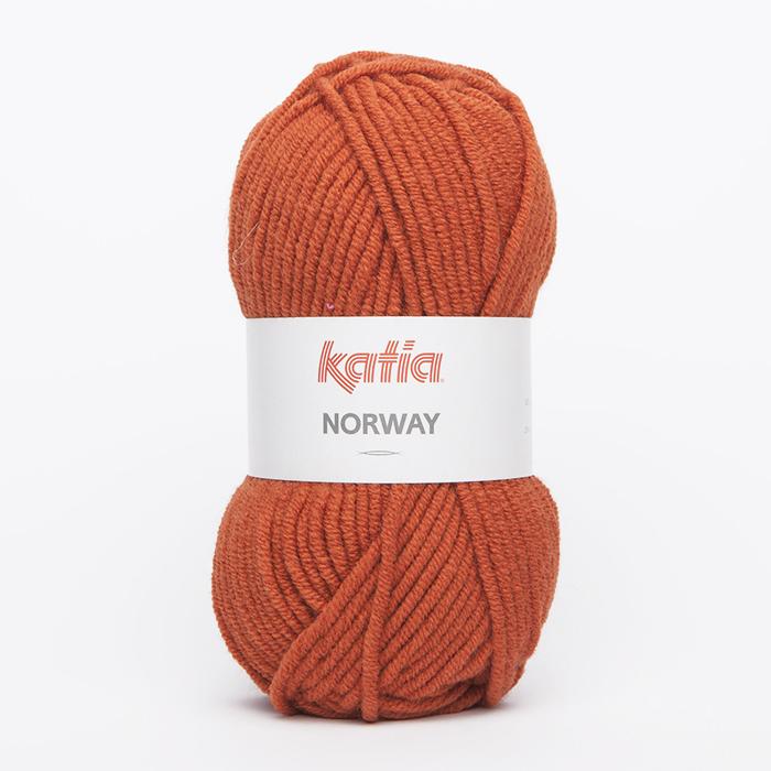 Wool, Norway, 15045-30, orange