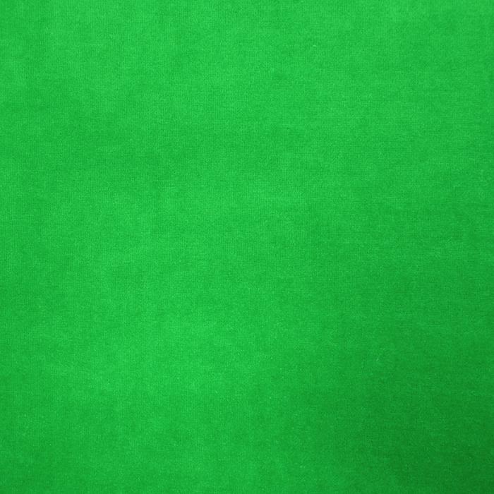 Pliš bombažen, 13348-225, zelena