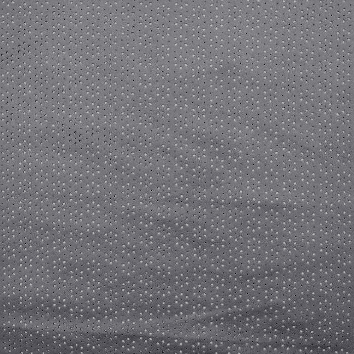 Semiš, brušeno pletivo, cvjetni, 16120-068, siva