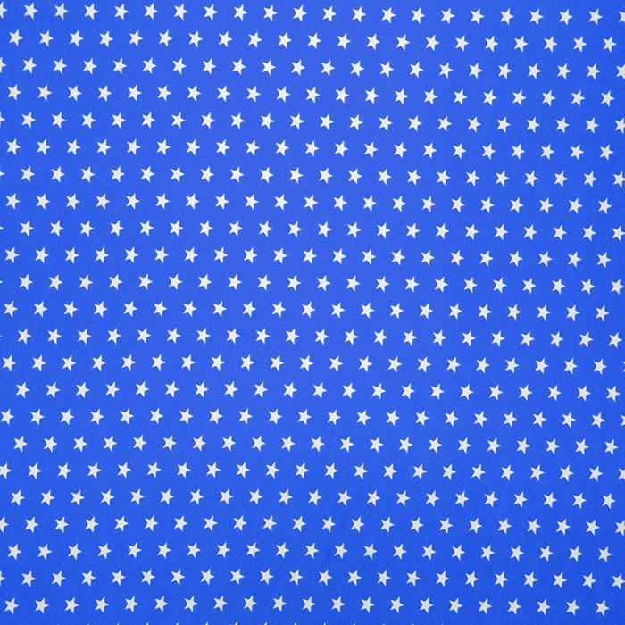 Cotton, poplin, stars, 16048-107