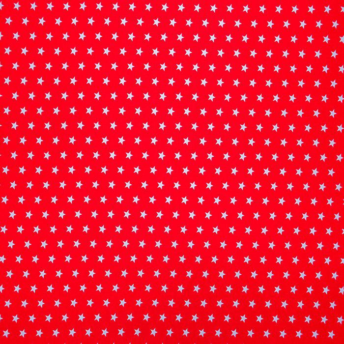 Cotton, poplin, stars, 16048-115