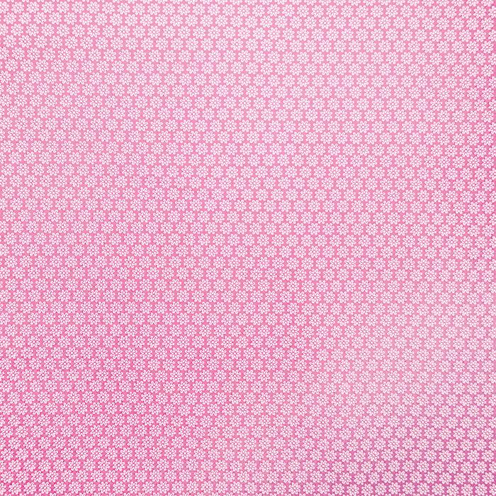 Pamuk, popelin, cvjetni, 16048-212, ružičasta
