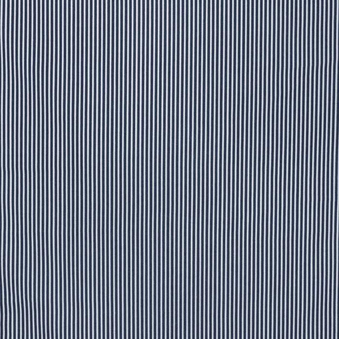 Bombaž, poplin, črte, 16048-308, modra