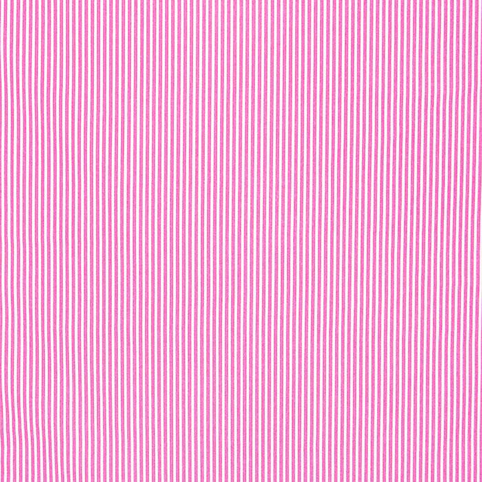 Bombaž, poplin, črte, 16048-312, roza