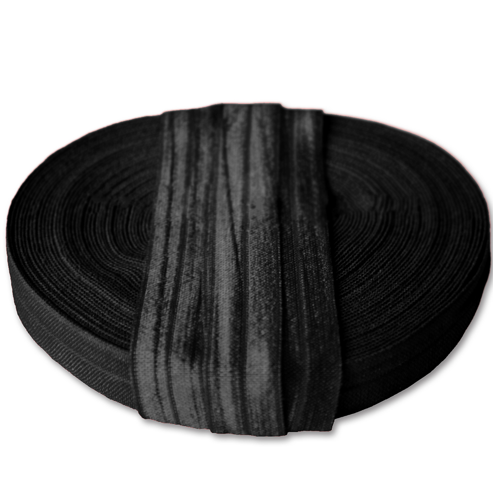 Elastika, obrobna, 15 mm, 16181-11338, črna