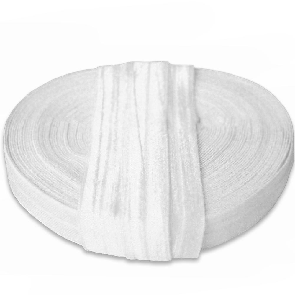 Elastika, obrobna, 15 mm, 16181-11340, bela