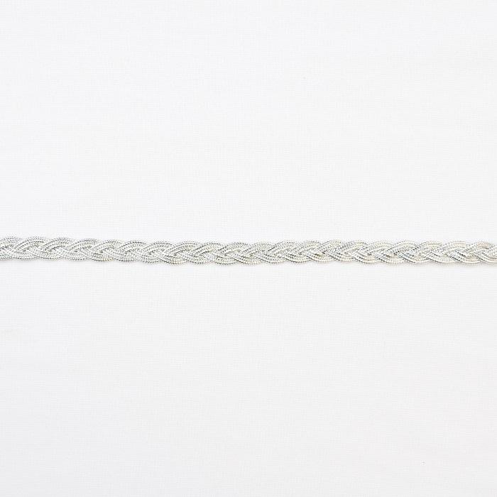 Trim, braid, 16195-10656, silver