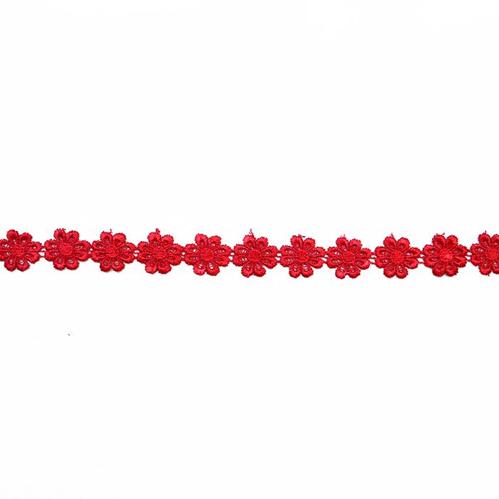 Traka, cvijeće, 16202-40987, crvena