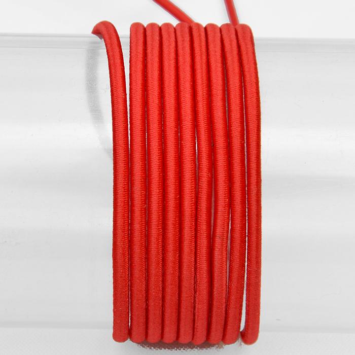 Elastika, okrogla 3mm, 16206-41608, rdeča
