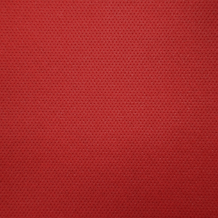 Artificial leather, perforated, 16255-222, red