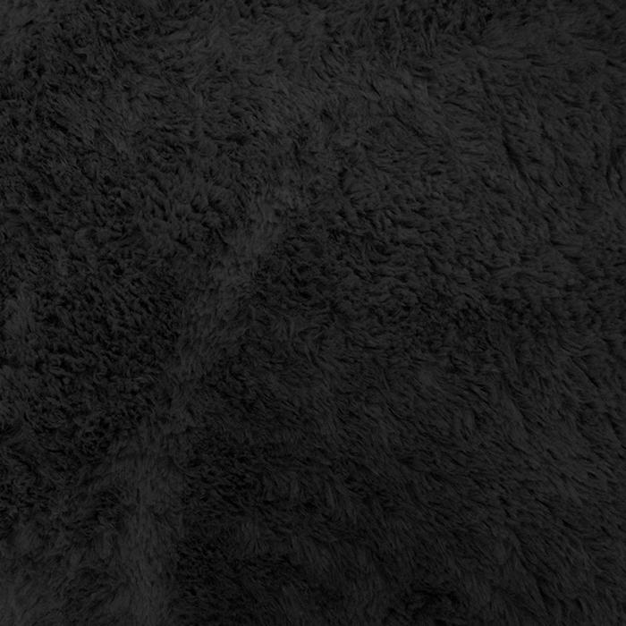 Umetno krzno, obojestransko, 16261-1, črna