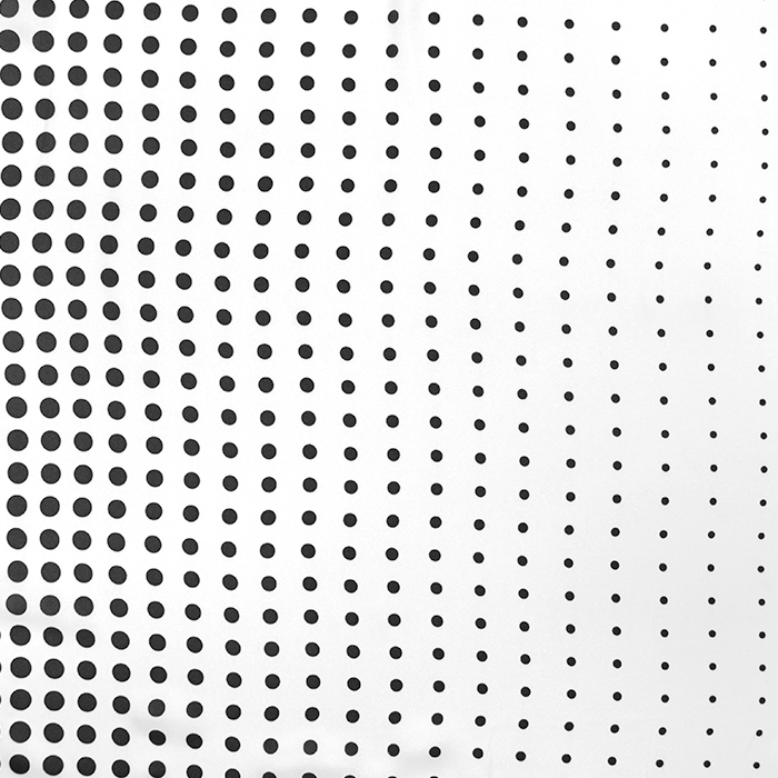 Tkanina, tanjša, pike, 16263-4, črno bela