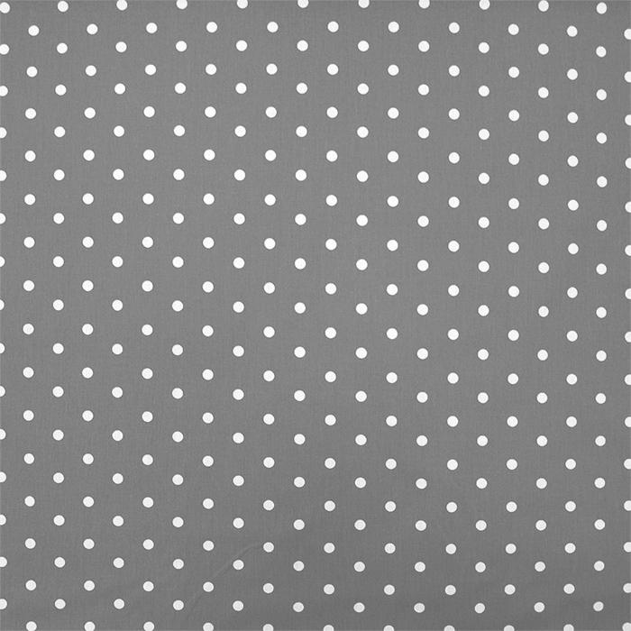 Bombaž, poplin, pike, 15910-10, siva