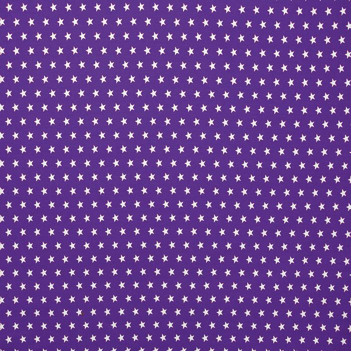 Jersey, bombaž, zvezde, 16280-143, vijola