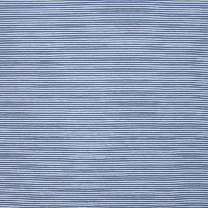 Jersey, bombaž, črte, 16366-006