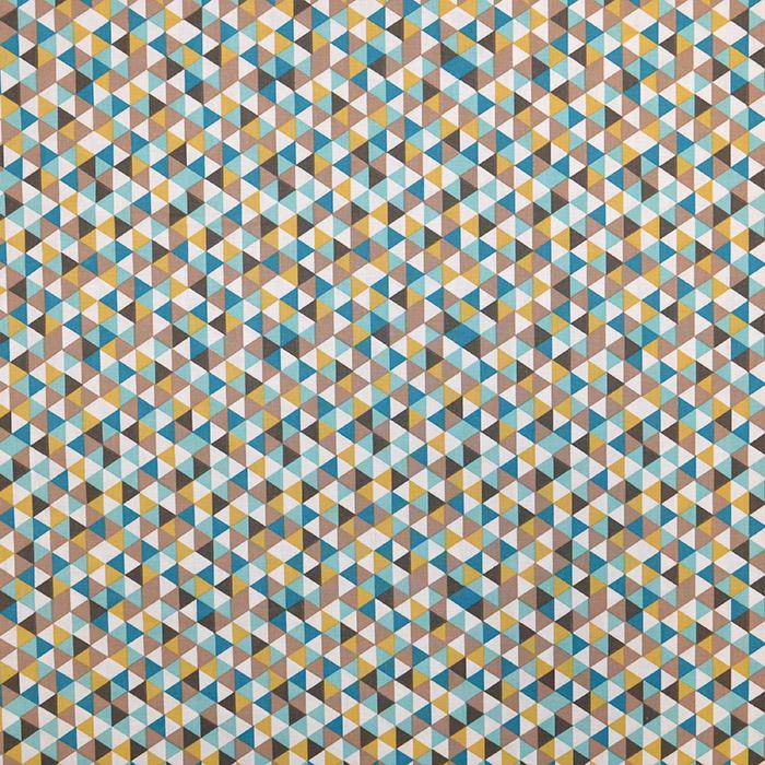 Bombaž, poplin, geometrijski, 16373-4