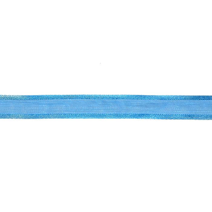 Trak, organza, 13500-02, modra